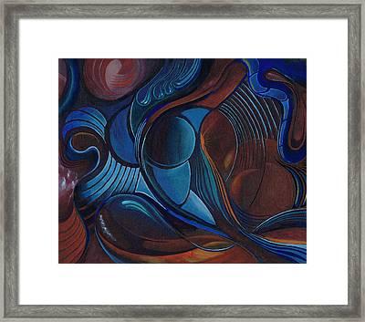 Womb Of Bliss Framed Print
