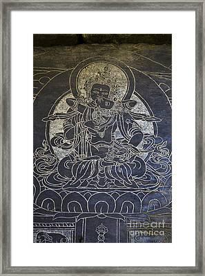 Blissful Union - Nupri Nepal Framed Print