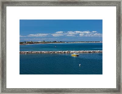 Block Island Blue Framed Print by Karol Livote