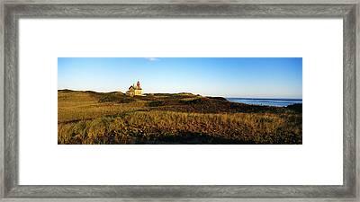 Block Island Lighthouse Rhode Island Usa Framed Print