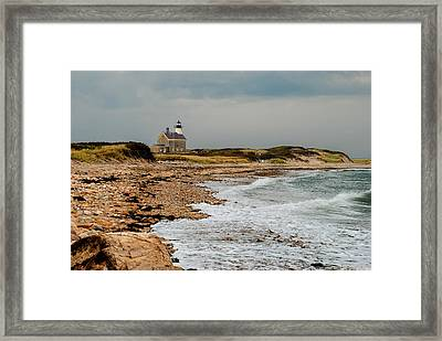 Block Island North Lighthouse  Framed Print