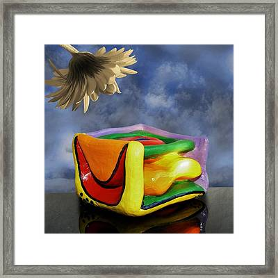 Blocked Framed Print by Barbara St Jean