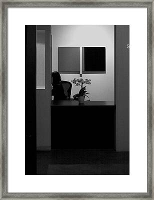 Blocked From View Of You Framed Print by Viktor Savchenko