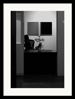 Blocked From View Of You Framed Prints