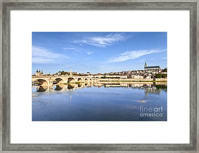 Blois Loire Valley France Framed Print by Colin and Linda McKie