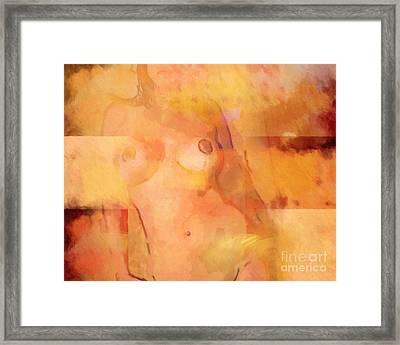 Blonde Framed Print by Lutz Baar