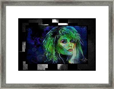 Blondie - Debbie Harry Framed Print