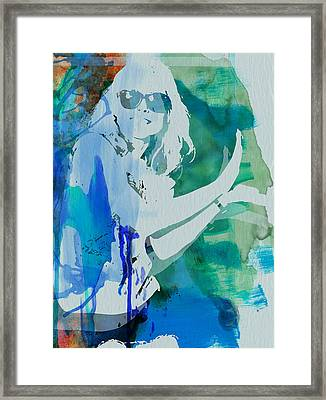 Blondie Framed Print by Naxart Studio