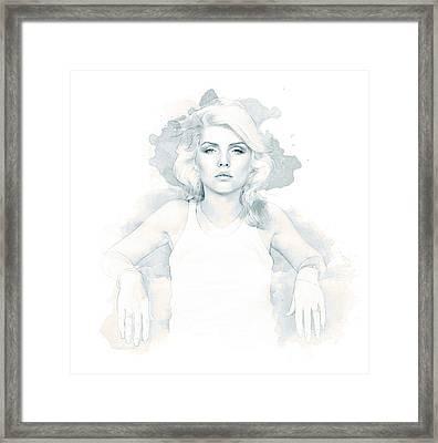 Blondie Framed Print by Kurt Ramschissel