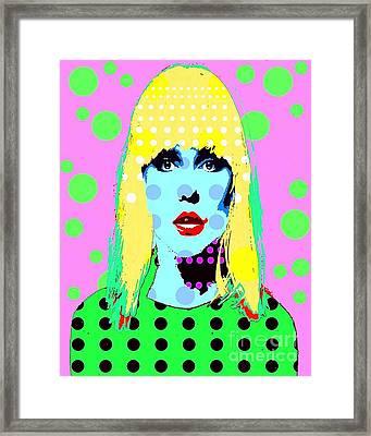 Blondie Framed Print by Ricky Sencion