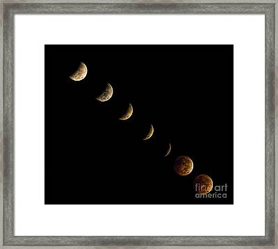 Blood Moon Framed Print by James Dean