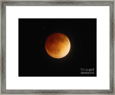 Blood Moon Framed Print by Eclectic Captures