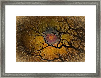 Blood Moon Framed Print by Mike Flake
