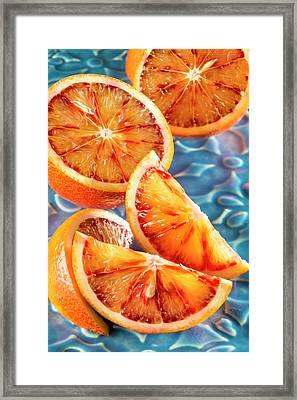Blood Orange Framed Print