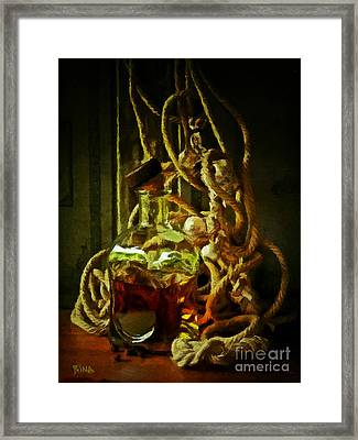 Blood Off Pressure II Framed Print