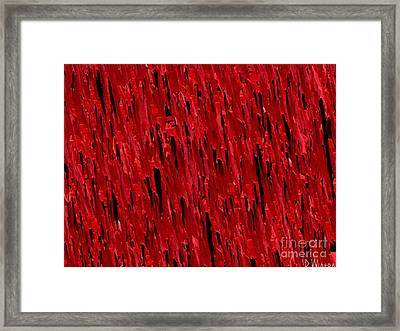 Blood Revenge-natural-imaginary Texture Framed Print by David Winson