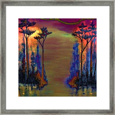 Blood Roots Framed Print by David Mckinney