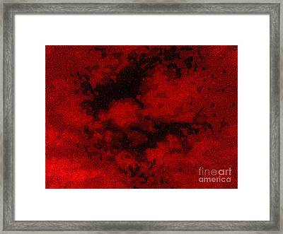 Framed Print featuring the photograph Blood Sky by Andy Heavens