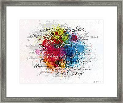 Blood Song Framed Print