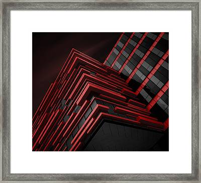 Blood Stream Framed Print by Nadav Jonas