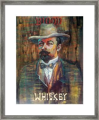 Blood Wiskey Framed Print
