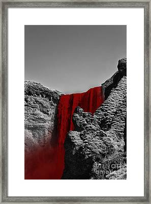 Bloodriver Framed Print