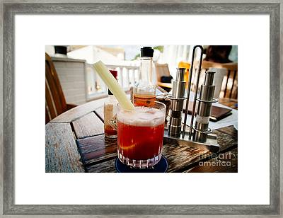 Bloody Mary Framed Print by Dean Harte
