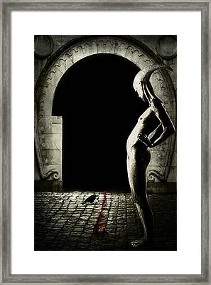 Bloody Monday Framed Print