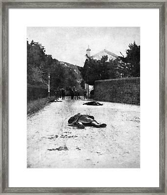 Bloody Sunday, 1920 Framed Print