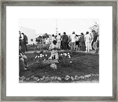 Bloody Thursday  Memorial Framed Print by Underwood Archives