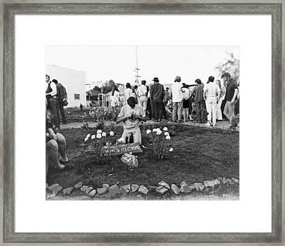 Bloody Thursday  Memorial Framed Print