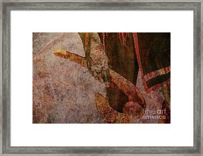 Bloody War Club Framed Print by Randy Steele