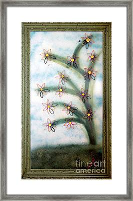 Bloom And Re-bloom Framed Print by Crush Creations