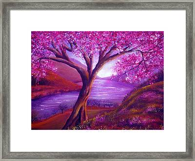 Bloom Framed Print by Ann Marie Bone