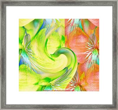 Bloom Dance  Framed Print by Maestro