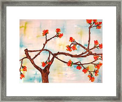 Bloom Framed Print by Doris Cohen