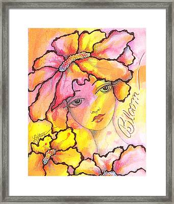 Bloom Framed Print by Joann Loftus