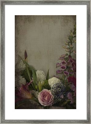 Flowers  Framed Print by Kim Clark