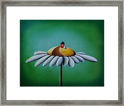 Bloom Where You Are Planted Framed Print by Cindy Thornton