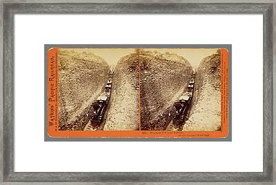 Bloomer Cut Near Auburn Framed Print by Litz Collection