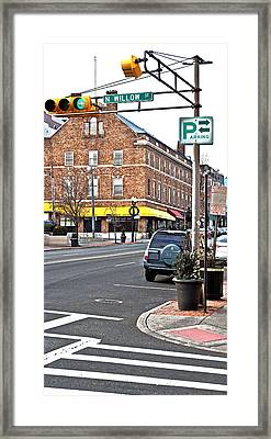 Bloomfield And N Willow Framed Print by Kellice Swaggerty