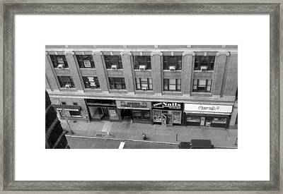 Framed Print featuring the photograph Bloomfield Avenue by Philomena Zito