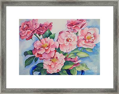 Blooming Grace Framed Print