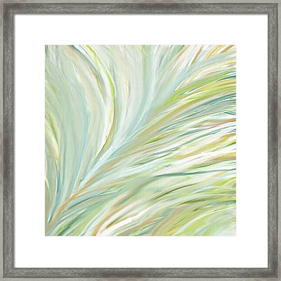Blooming Grass Framed Print