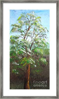 Blooming Tree Framed Print by Roni Ruth Palmer