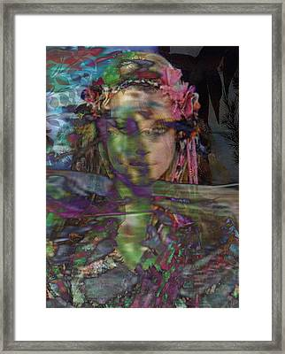 Bloomings Dale 2 Framed Print by Safir  Rifas