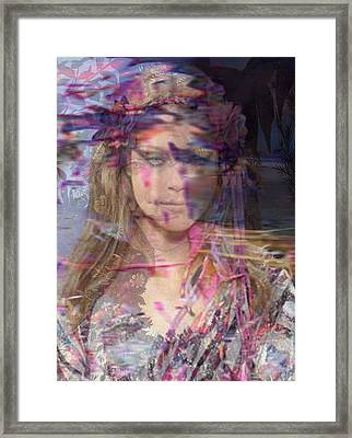 Bloomings Dale Framed Print by Safir  Rifas