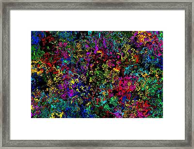 Bloop Nebula Framed Print
