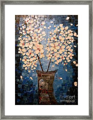 Blossom Bouquet Framed Print by Alexandru Rusu