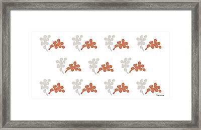 Blossom Diii Framed Print by Carmen Guedez